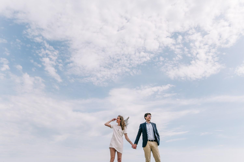 Mariés dans le ciel